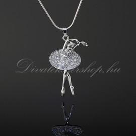 Táncos / balerina medálos nyaklánc