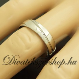 Nemesacél karika gyűrű