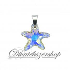 Tengeri csillag Swarovski kristály medál