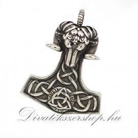 Thor kalapács (Mjölnir) - kos fej nemesacél medál