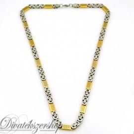 Nemesacé nyaklánc arany színű görög mintás betétekkel